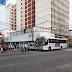 Acidente entre ônibus e doblo na Ulisses Caldas com Rio branco