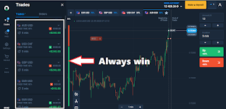 How to trade olymtrade so that you can profit a lot using a period of 5 minutes