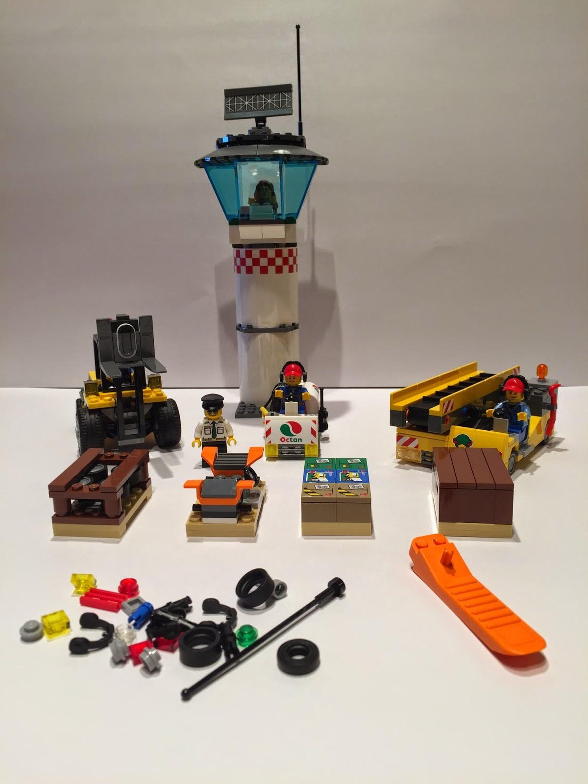 lego cargo terminal instructions