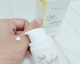Etude House Zero Sebum White Sebum Clear Review
