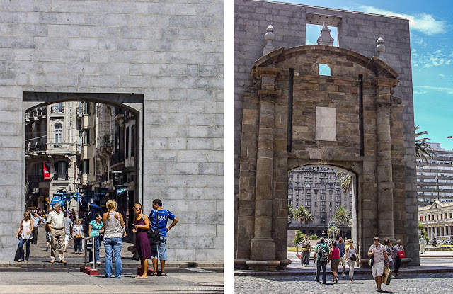 Puerta de la Ciudadela, Montevidéu