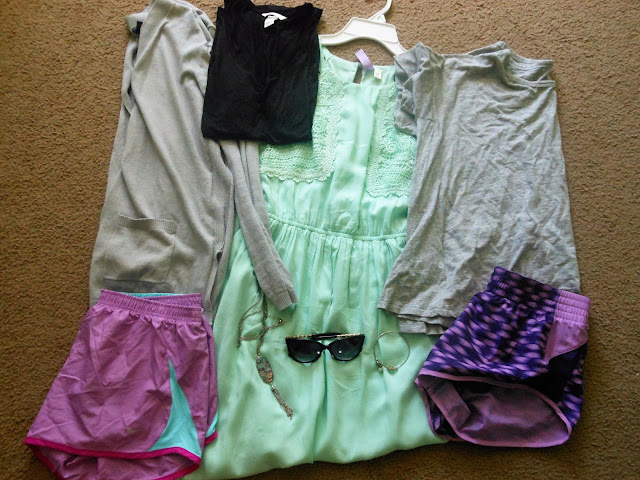 July In Numbers & Grace + Lace Link Up purchases monthly round up Nike H&M Charming Charlie Gap Francesca's