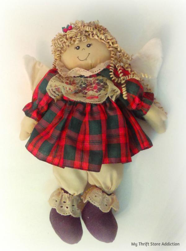 handmade angel doll