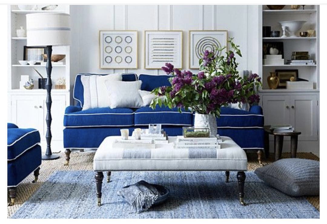 Beautiful BLUE: Home and Art