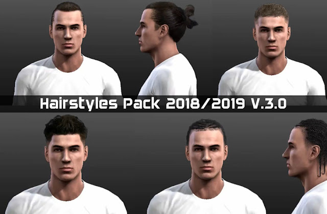 Pes 2013 Hairstyles Pack 20182019 V30 Micano4u Pes Patch