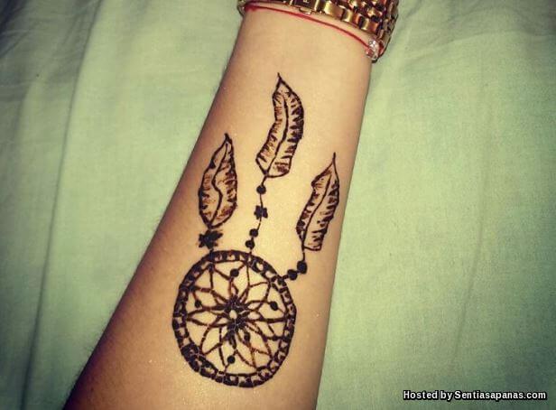 Henna 'Dreamcatcher'