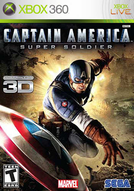 Captain America Super Soldier - Xbox 360 - Multi5 - Portada