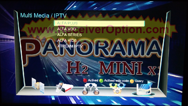 PANORAMA H2 MINI X1 1506TV 512 4M NEW SOFTWARE WITH ECAST