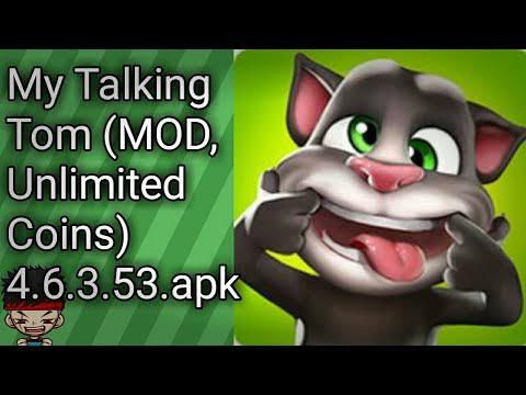 Download Meu Talking Tom Apk Mod Atualizado v4.7.0.69 / Coins Infinitos