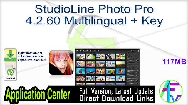 StudioLine Photo Pro 4.2.60 Multilingual + Key