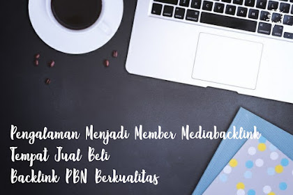 Pengalaman Menjadi Member Mediabacklink, Tempat Jual Beli Backlink PBN Berkualitas