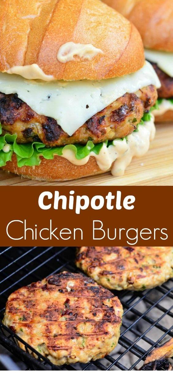 Spicy Chipotle Chicken Burger