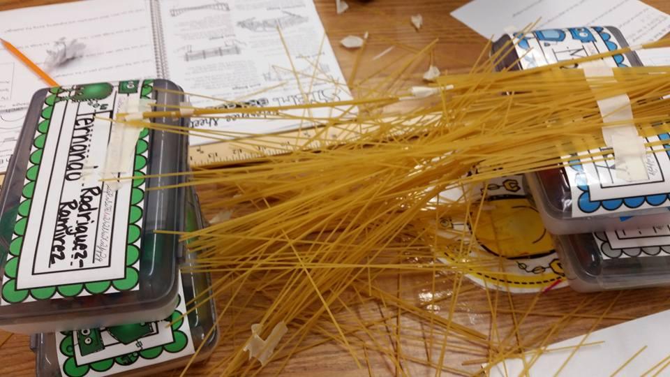 growing a stem classroom strongest pasta bridges challenge. Black Bedroom Furniture Sets. Home Design Ideas