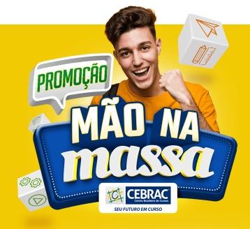 Cadastrar Promoção Mão na Massa Cebrac Centro Brasileiro Curso - 5 Mil Reais Dinheiro e Mais