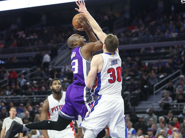 Jon Leuer face aux Kings | PistonsFr, actualité des Detroit Pistons en France