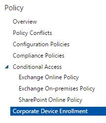 Gerry Hampson Device Management: Corporate Device Enrollment