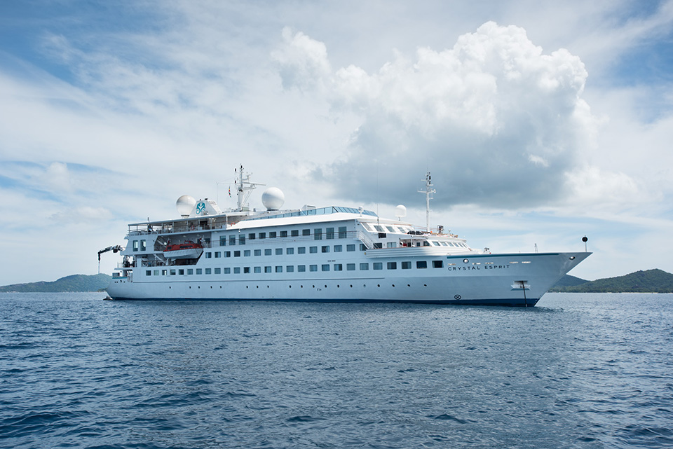 Crystal Esprit Itineraries Canceled Due to Technical Upgrades