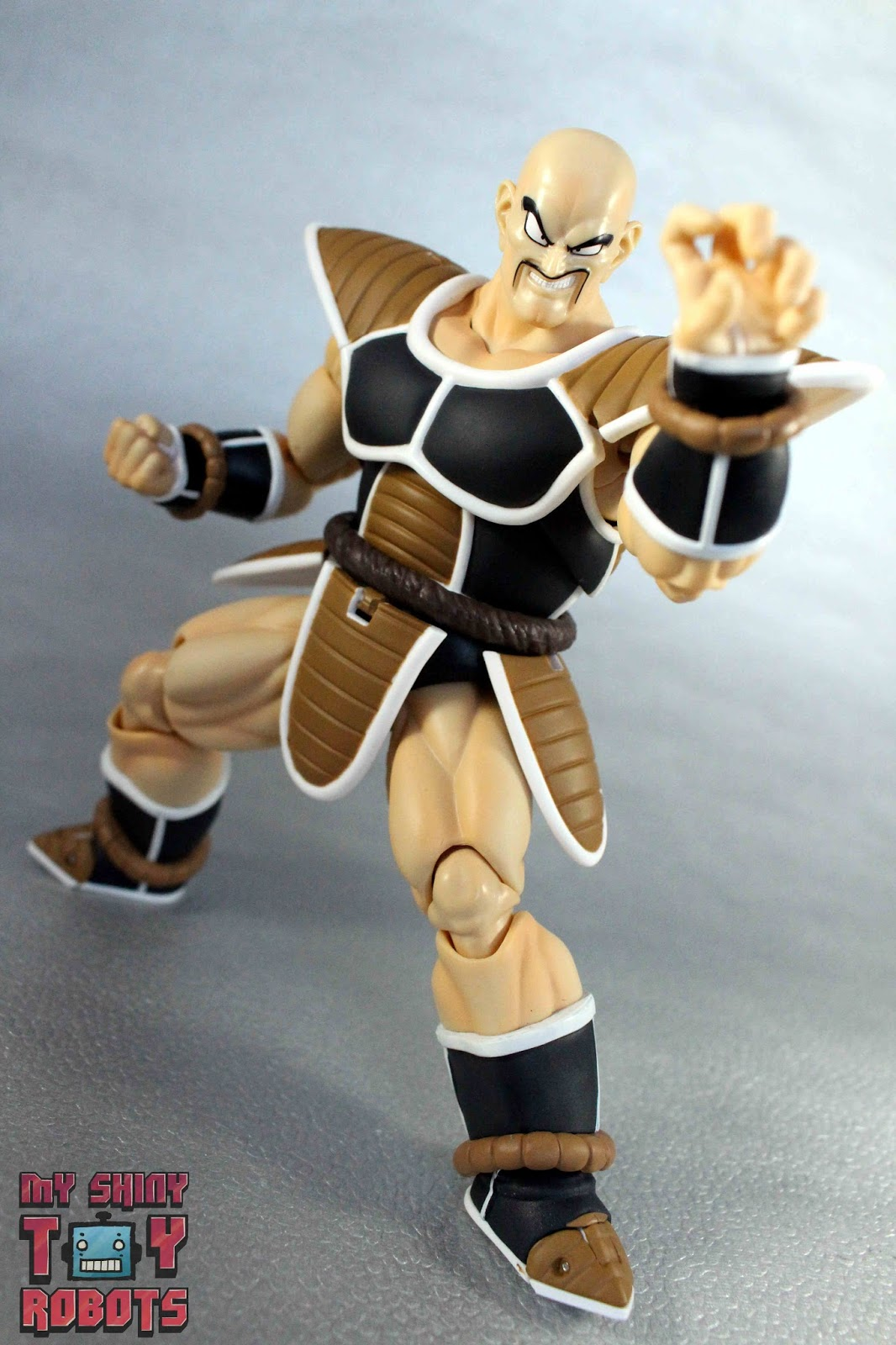 my shiny toy robots toybox review s h figuarts nappa