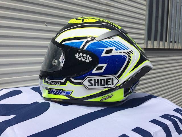 racing helmets garage shoei x spirit iii j cluzel 2016 by asd painted by aerodiffusion. Black Bedroom Furniture Sets. Home Design Ideas
