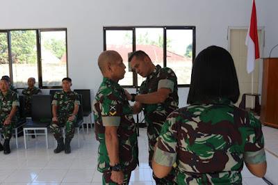 Wadanrindam XIII/Mdk Membuka Diktukbasus Babinsa TNI AD Tahun 2019