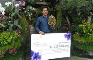 I Nyoman Hendrawan And Hobbies of Planting Ornamental Plants Become Billionaires