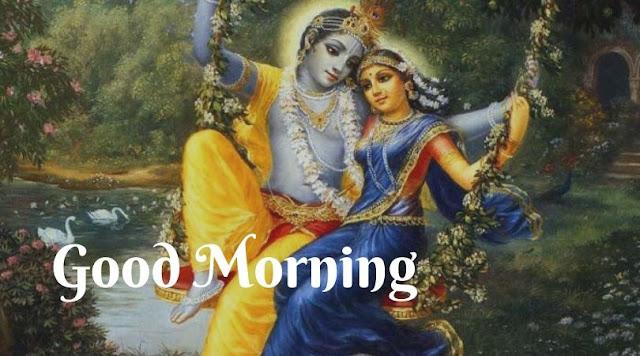 radha krishna good morning images free download