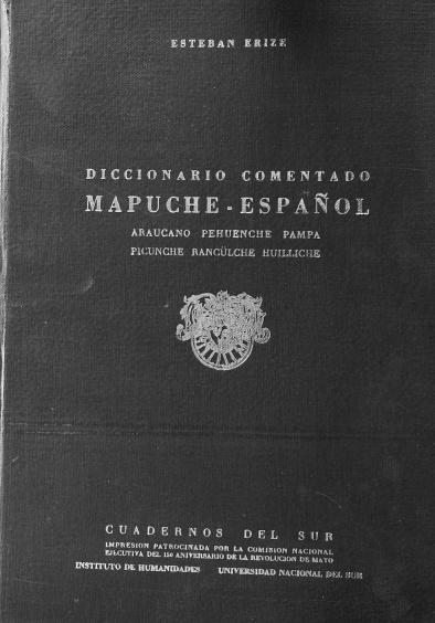 BIBLIOTECA VIRTUAL DEL NORTE NEUQUINO: DICCIONARIO COMENTADO ...