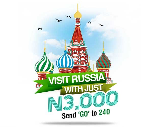 Win a trip to Russia with Glo Go Russia Promo