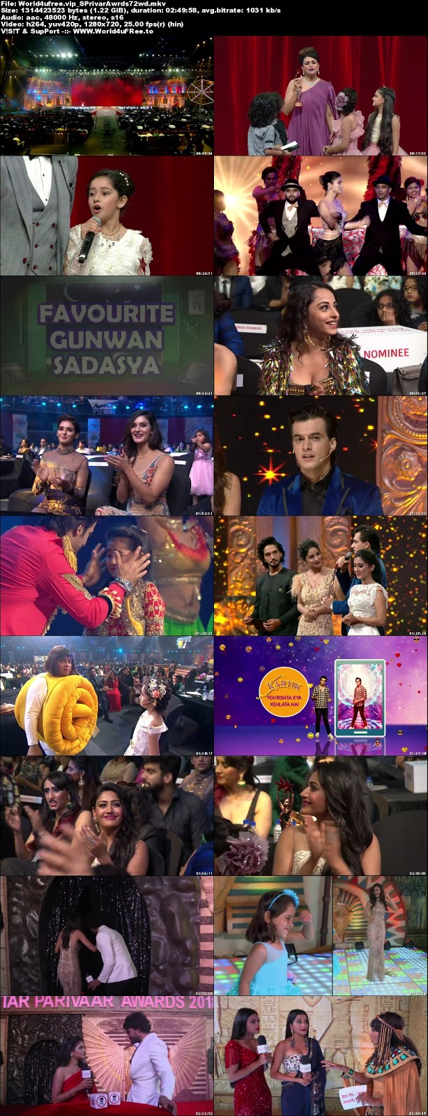 Star Parivaar Awards 2018 Hindi 720p WEBHD 1.2Gb x264 world4ufree.fun tv show Star Parivaar Awards 2018 Main Event hindi tv show tv show compressed small size free download or watch online at world4ufree.fun