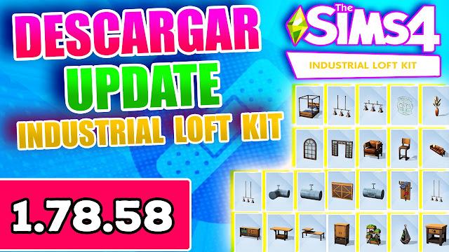 los sims 4 industrial loft kit actualizacion 1.78.58 mediafire