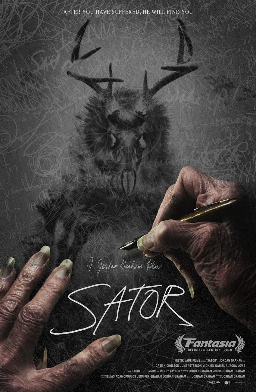 Вышел трейлер независимого хоррора «Сатор» про лесного духа и безумие - Постер