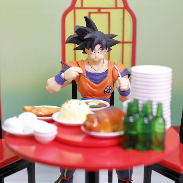 S.H.Figuarts Son Goku's Belly Eighth Set