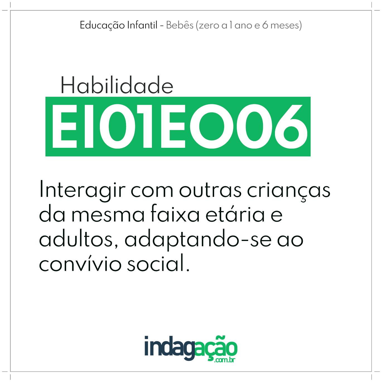 Habilidade EI01EO06 BNCC