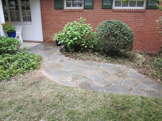 Completed Patio Creation