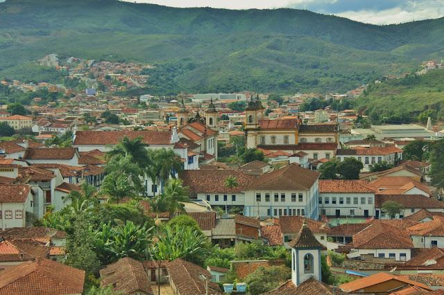 Cidade mineira de Mariana