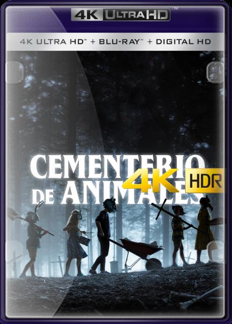 Cementerio Maldito (2019) 4K UHD HDR LATINO/INGLES