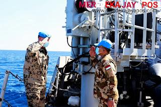 KRI Sultan Hasanuddin Dan Kapal Perang Turki Unjuk Gigi Dihadapan Komandan MTF