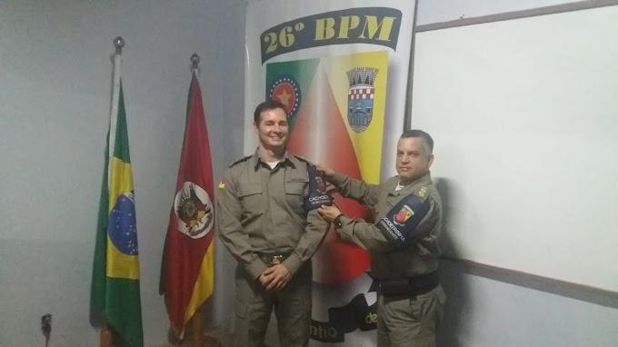Brigada Militar de Cachoeirinha tem novo subcomandante
