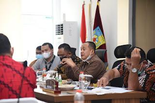 Bupati Zahir Rapat Koordinasi Program Pemberantasan Korupsi Terintegrasi Di Kabupaten Batu Bara
