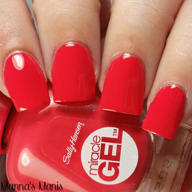 sally hansen, nail polish, sally hansen red-gy