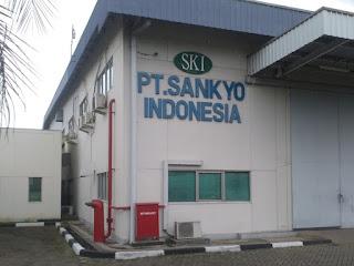Gaji Karir Lowongan Kerja PT Sankyo Indonesia 2019 Terbaru