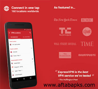 Express VPN Free, Connect in One Tap , aftabapks