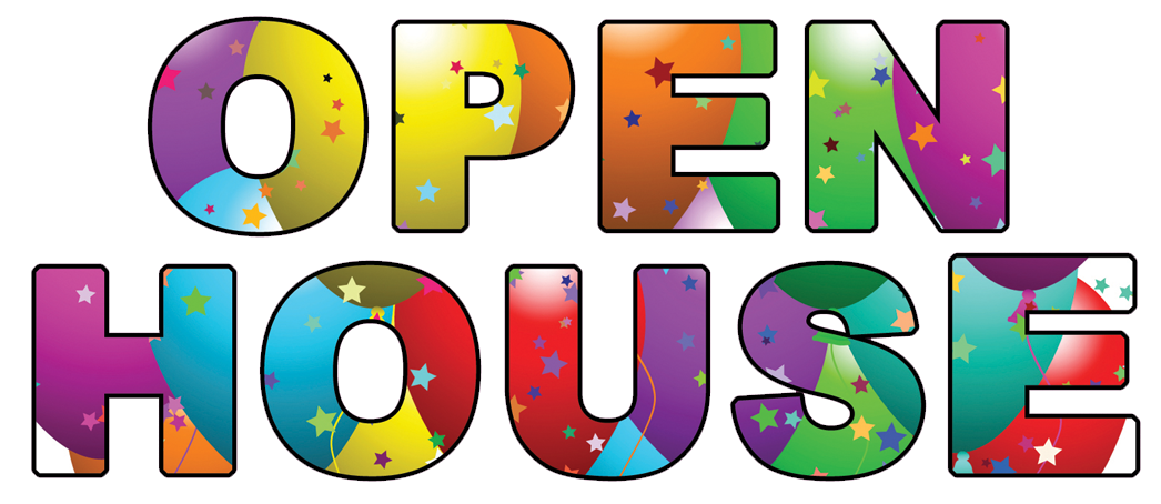 free clip art open house - photo #20