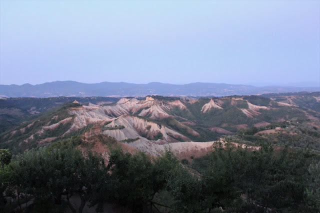 Lazio, i calanchi