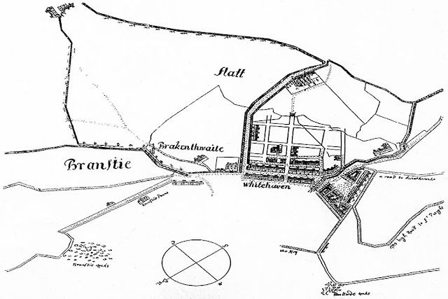 Plan Of Whitehaven, 1693