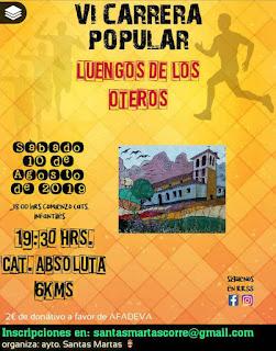 Carrera  Popular Luengo de los Oteros 2019