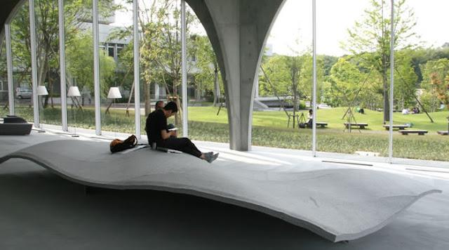 建築家が設計した本を読みたくなる、ステキな図書館6選 多摩美術大学図書館 伊東豊雄