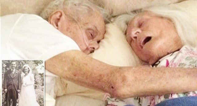A Couple Who Spent 75 Years Together Died In Each Other's Arms
