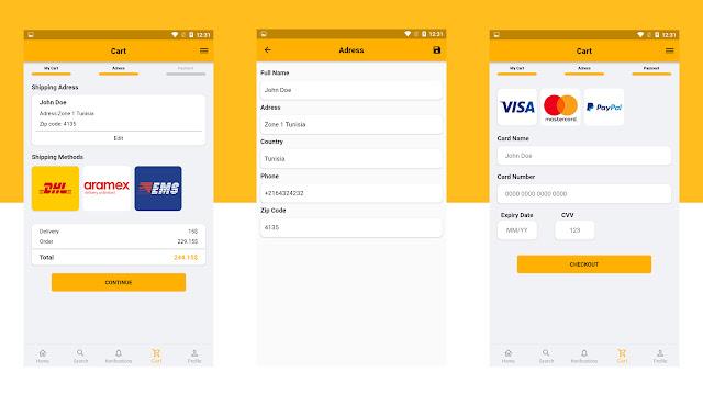 Flutter E-Commerce UI - 7