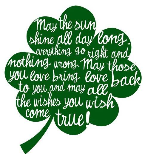 Happy St Patrick's Day 2019 Blessings, Irish Sayings